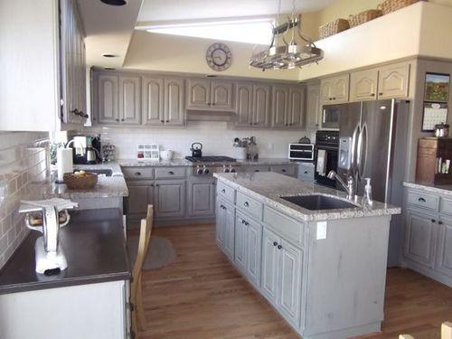Kitchen floor finished